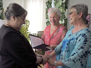 Rev. Mary McCandless ~ Four Seasons Celebrations, Wedding Officiant 1
