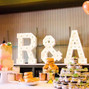 The wedding of Rochelle Anne and Ampersand Marquee Letters 13