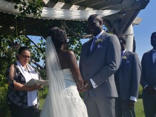 Rev. Darcelle Runciman - Your Wedding Officiant ~ The Infinity Centre 2
