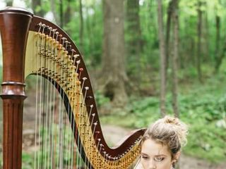 Chantal Dube, The Harpist 3