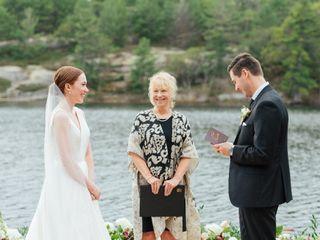 Tracy Biggar, Wedding Officiant 1