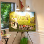 The wedding of Jiaxin Ni and John Gingrich - Live Event Painting 8