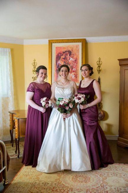 Mismatched Bridesmaid Dresses 9