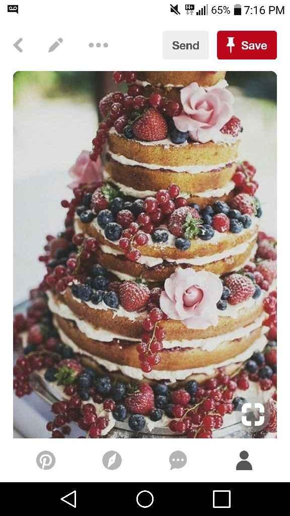 White or Colorful: Wedding Cake? - 1