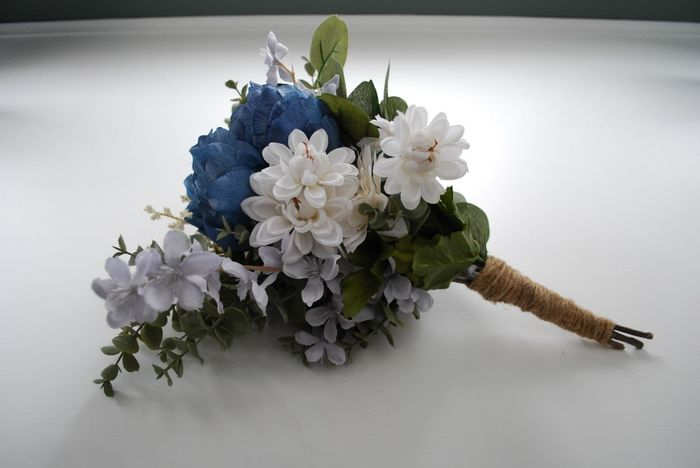 diy Artifcial Bouquet Results 9