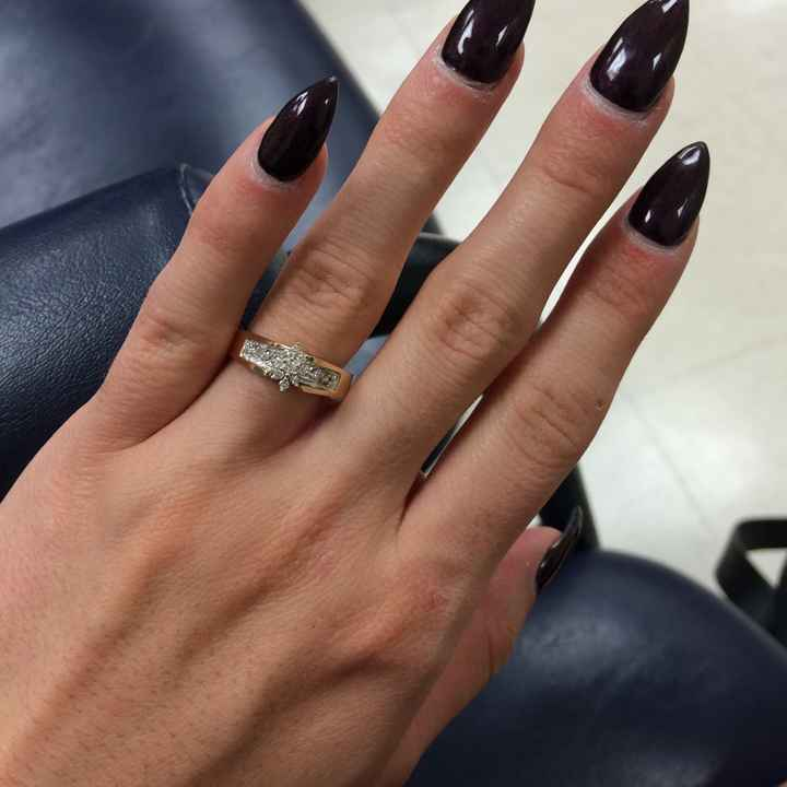 Engagement rings, haven't seen any posted. - 1