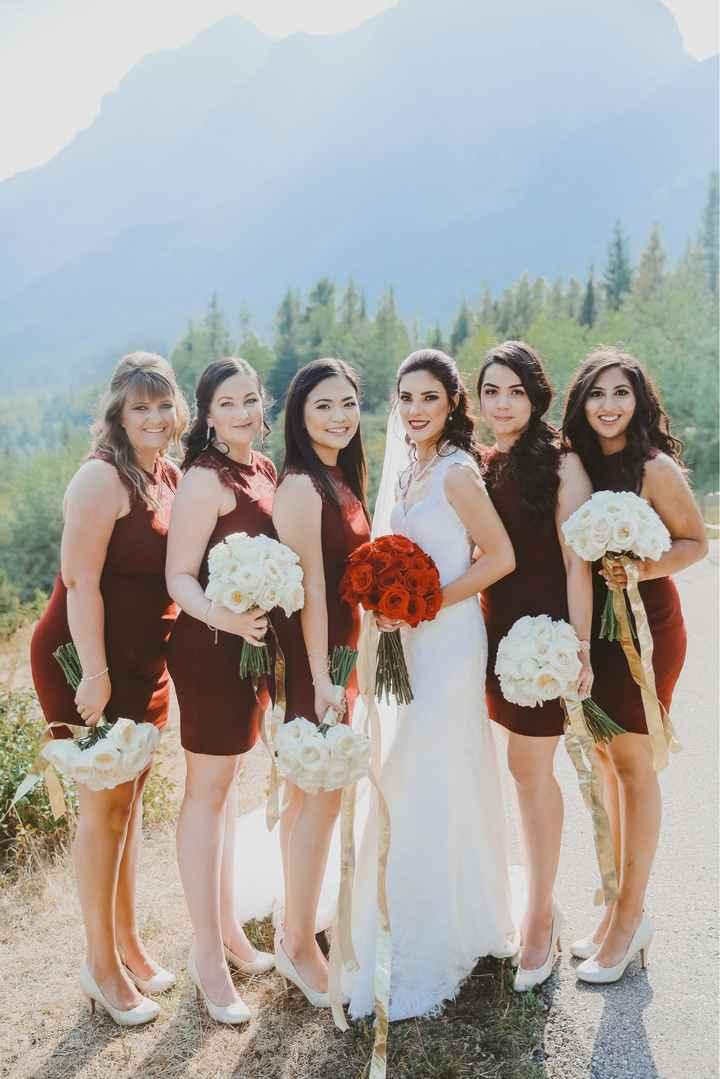 Bridesmaid/bridal hairstyles - 1
