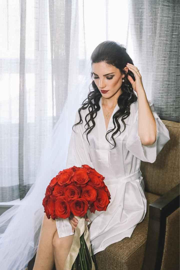 Bridesmaid/bridal hairstyles - 2