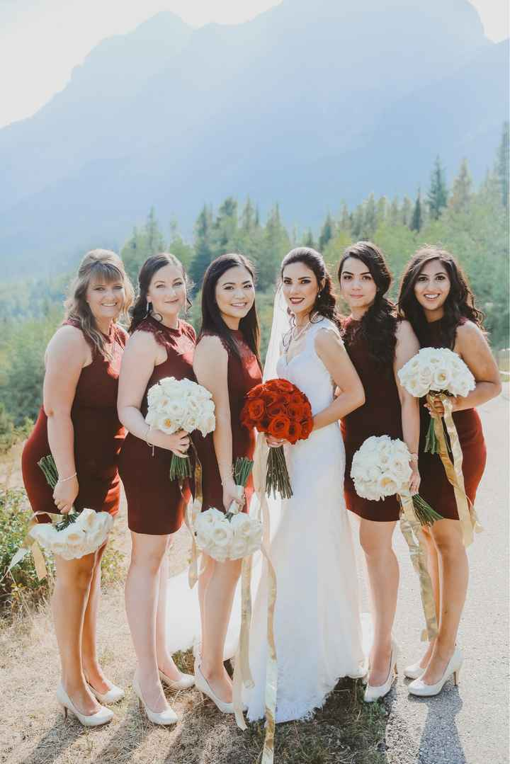 What color are your bridesmaid dresses? - 1