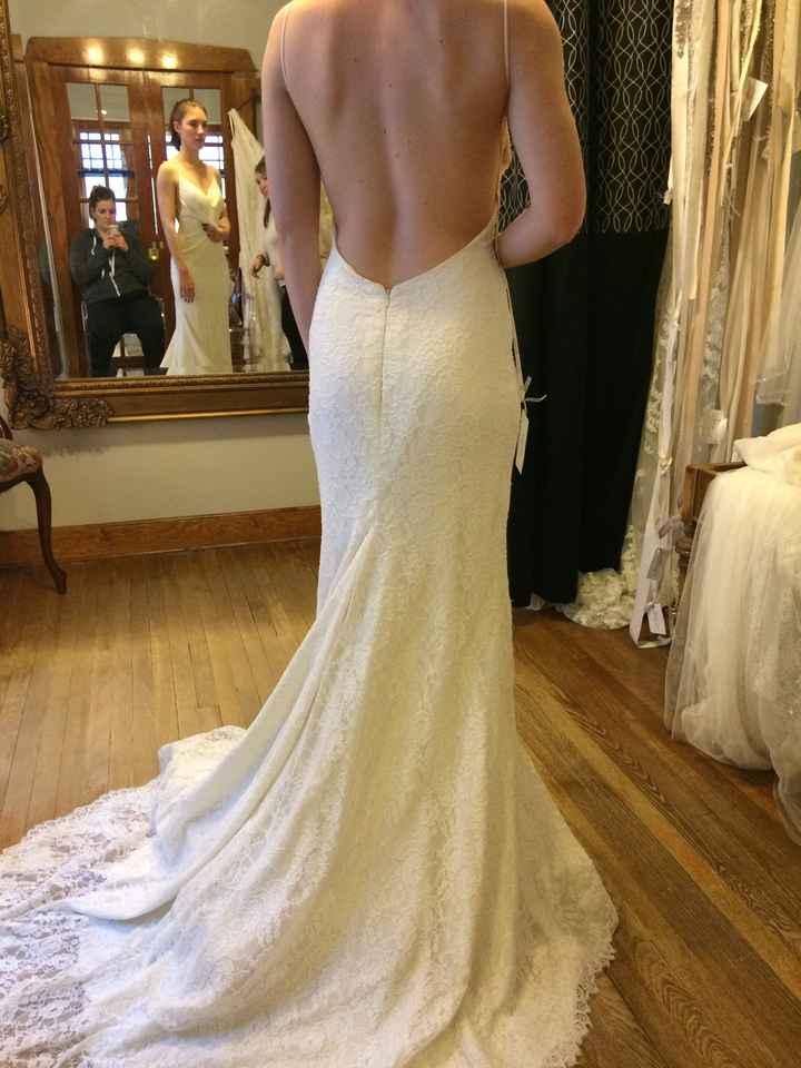 How do i pick the right wedding dress?? - 1