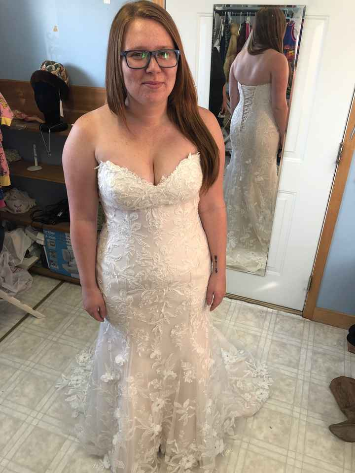 Dress issues - should i get another dress - 1