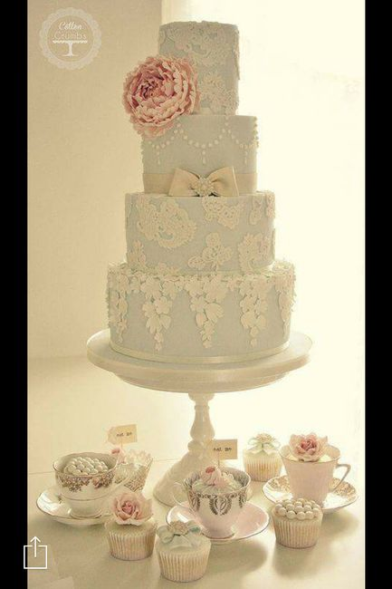 Wedding cake idea - Wedding reception - Forum Weddingwire.ca
