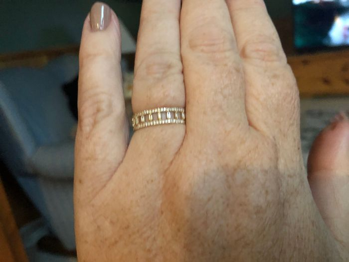 What's your preference? Wedding Band or Wedding Ring Enhancer? 5