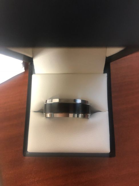 Wedding bands for the men! 4