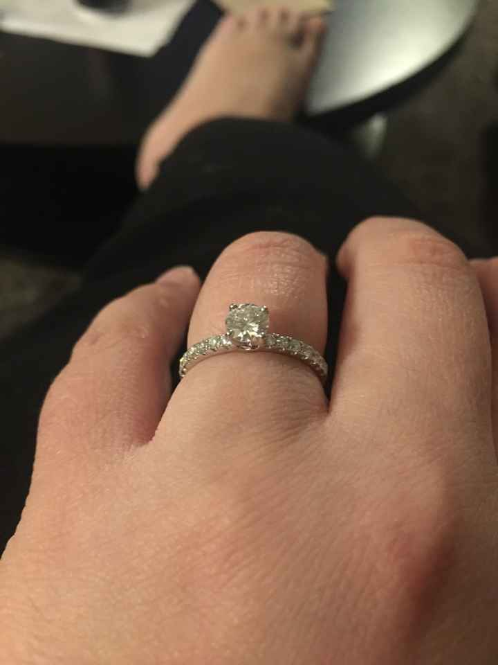 Rings and proposal stories. - 1