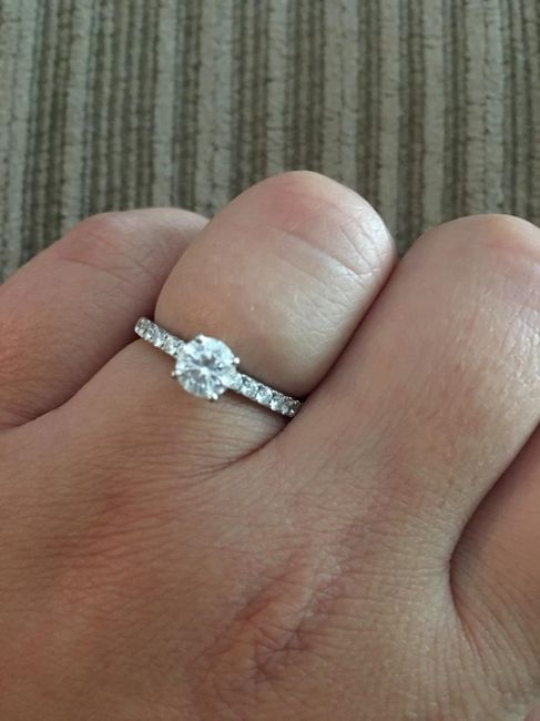 Show Me Your Solitaire Ring! 6