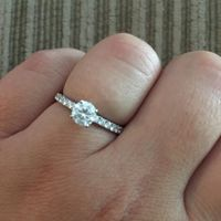 I don't have any professional pictures of my ring, so this is the best I could take!