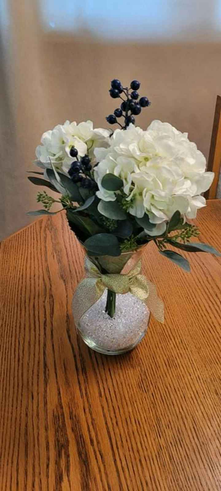 Real vs Faux Flowers for Centrepieces - 1