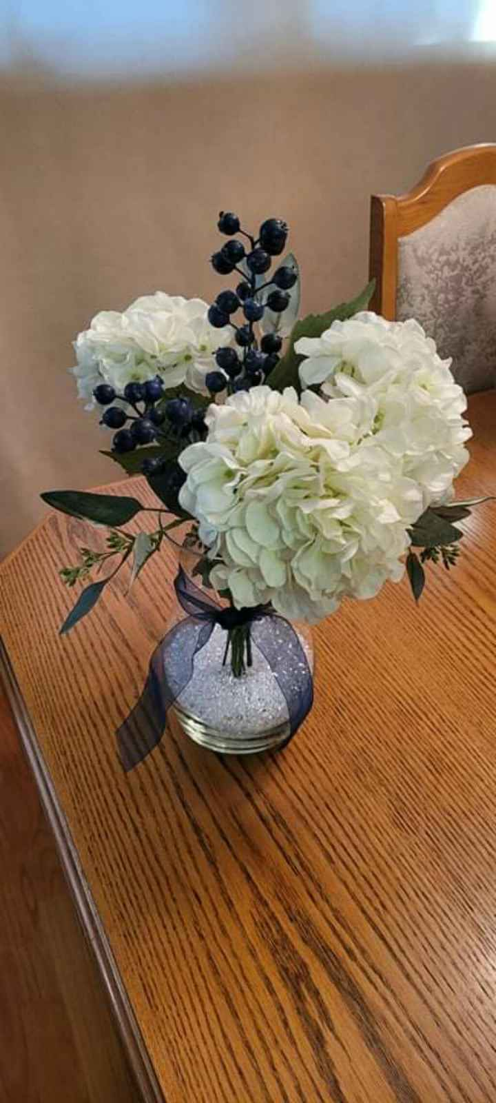 Real vs Faux Flowers for Centrepieces - 3