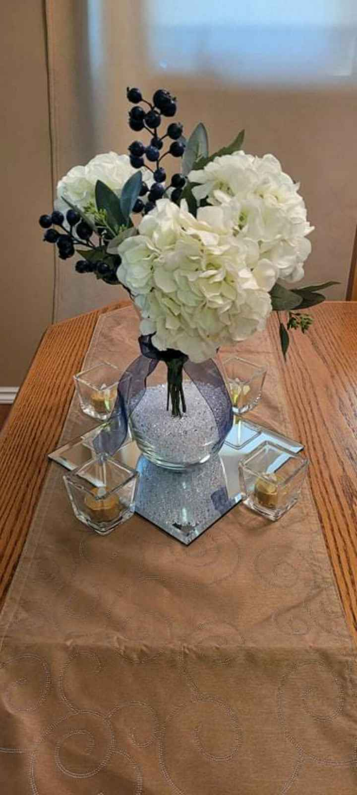 Real vs Faux Flowers for Centrepieces - 5