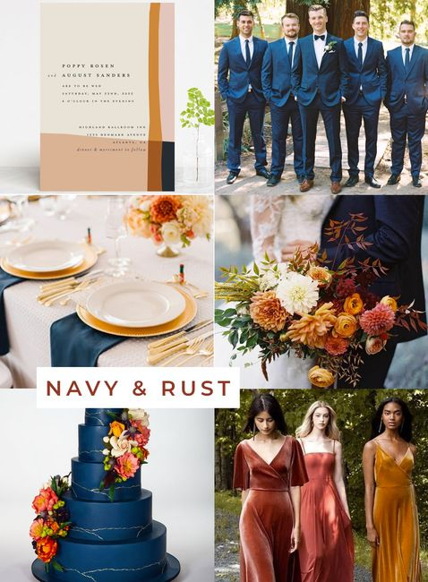 Suit colour for a fall themed wedding? 3