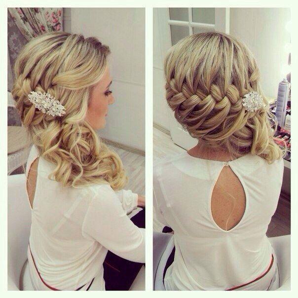 Bridal hair 5