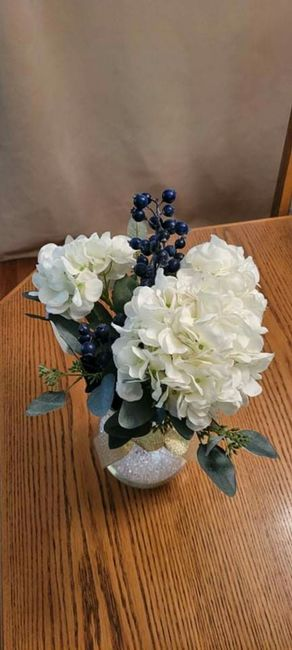 Real vs Faux Flowers for Centrepieces 2