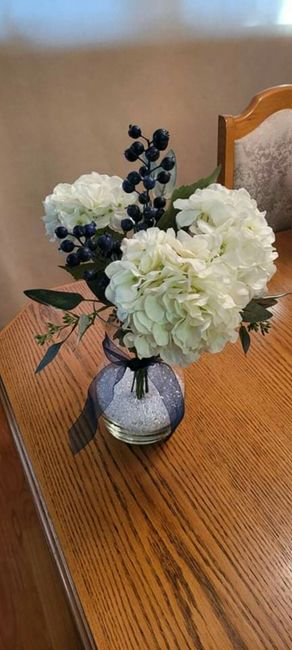 Real vs Faux Flowers for Centrepieces 3