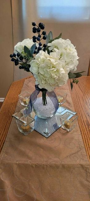 Real vs Faux Flowers for Centrepieces 5