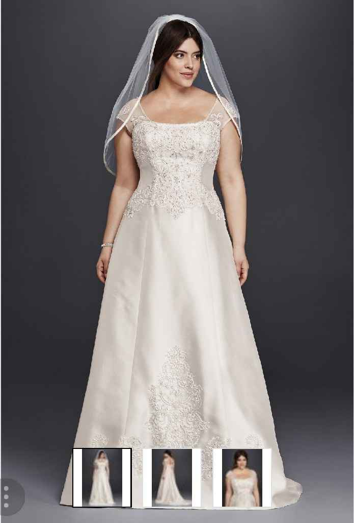 Any plus sized brides in the community? - 1