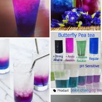 Colour changing drinks. - 1