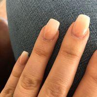 Wedding day nails - 1