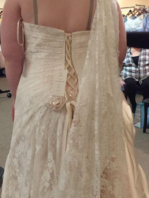 Wedding Dress Shopping = Mixed Emotions 4