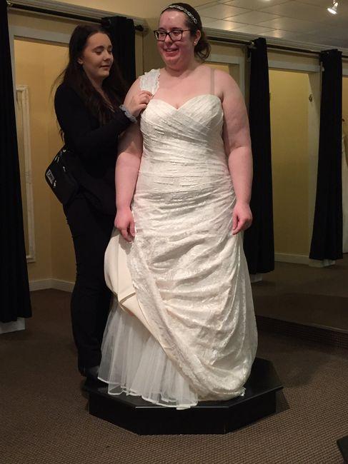 Wedding Dress Shopping = Mixed Emotions 6