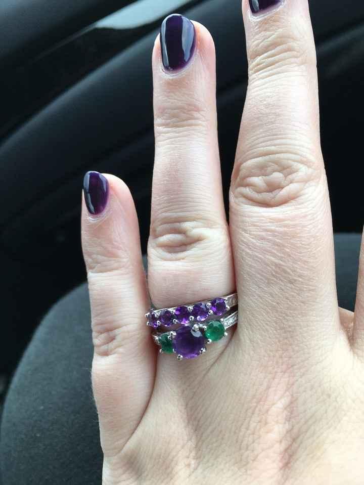 My rings!