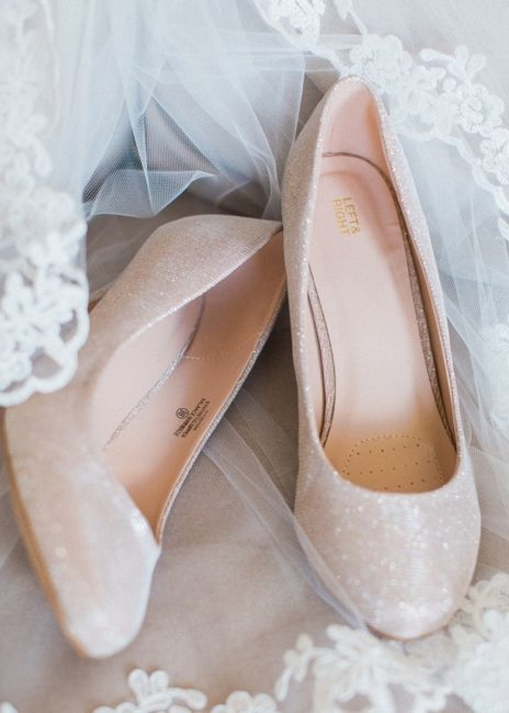 bdbc79f36c72 Heels  Flats  Boots  What shoes are you wearing on your wedding day ...