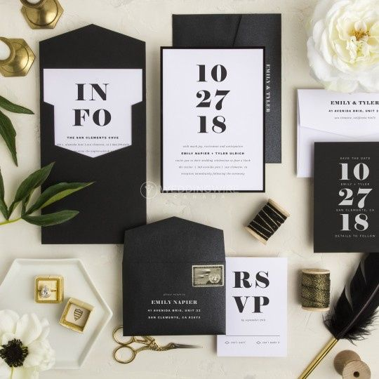 Montreal Wedding Invitations: Test Time! Whose Name Goes First On The Wedding Invitation