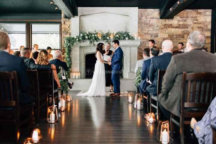 Fireside Wedding Ceremony