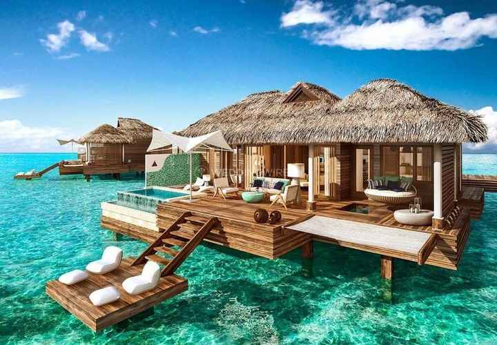 Luxury Honeymoon - Private Villa, Over-Water Bungalow