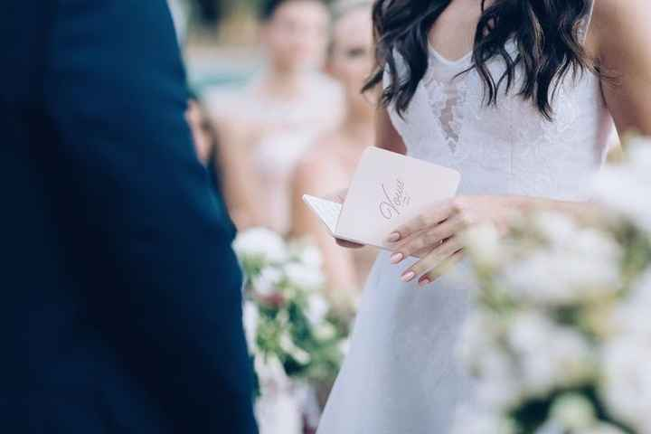 Vows Booklet