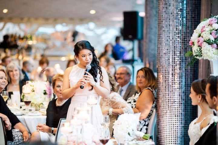 Wedding Speech - Maid Of Honor Toast