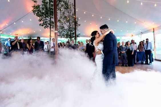 First Dance with Smoke / Fog Effects