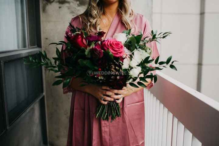Pink and Greenery Bouquet