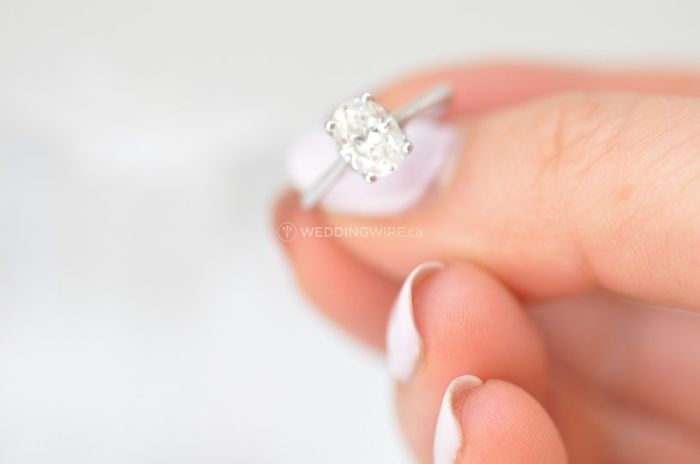 Do you wear your engagement ring while sleeping? 1