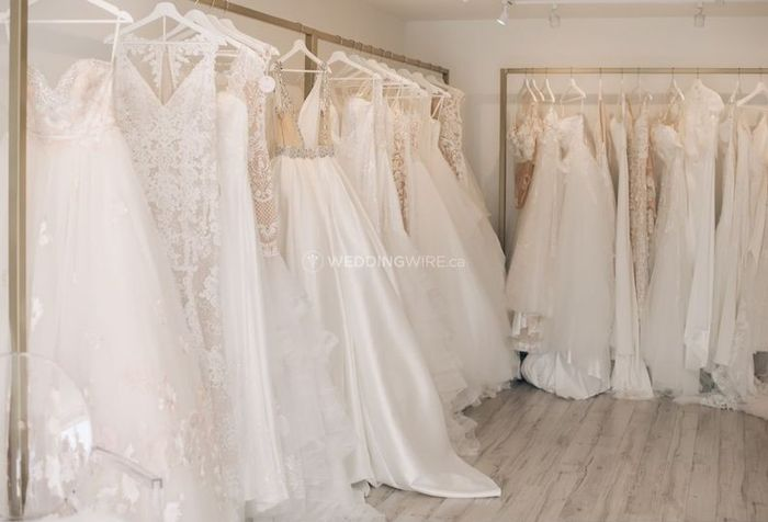 White? Ivory? Champagne? What shade is your wedding dress? 1