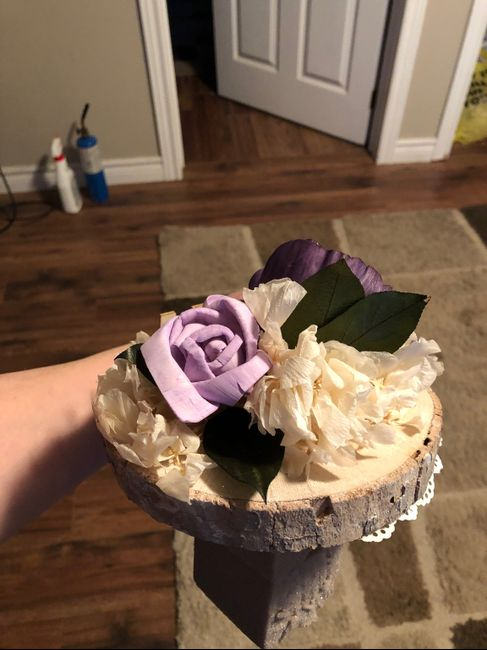 diy Artifcial Bouquet Results 13