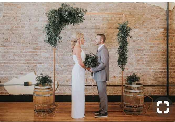 Do you have an arch or arbor to decorate? - 1