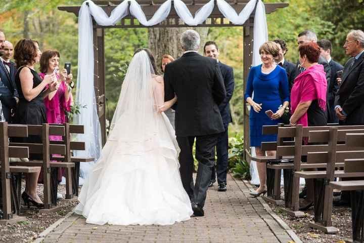 Accesorizing a blush wedding dress? - 1