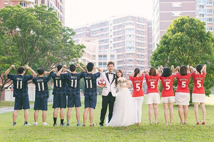 Soccer Themed Wedding Ideas