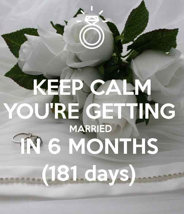 How many days left till your big day? - 1